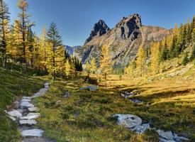 加拿大幽鹤国家公园风景图片