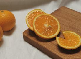 暖色调的橘子图片欣赏
