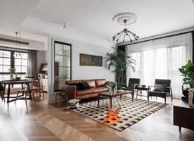 现代混搭,高质感的文艺,档次优雅的家