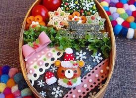 缤纷七彩盒饭便当美食图片