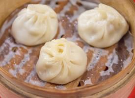中国特色美食好吃的小笼包图片