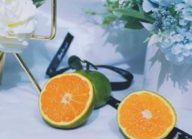一组透亮的橘子图片欣赏