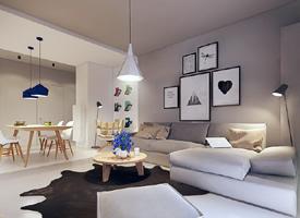 小公寓,简约的空间规划,利落中充满细节