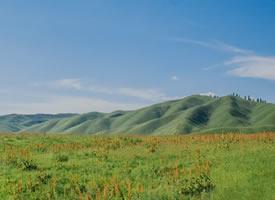 美丽的大草原,云下的故事