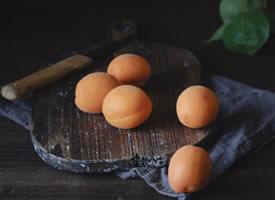 一组超好看的杏子图片欣赏