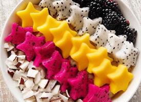色彩丰富的水果拼盘图片
