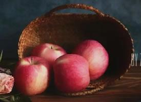 一组质感拍摄的苹果图片