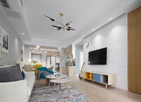 87㎡清新小户型北欧二居室,整个家以灰色为主