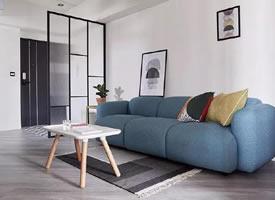 70平简约北欧小公寓,温馨浪漫的空间感