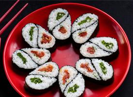 美味精致的寿司高清图片
