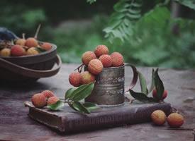 一组甜甜好吃的荔枝图片欣赏