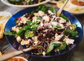 美味爽口的蔬菜沙拉图片