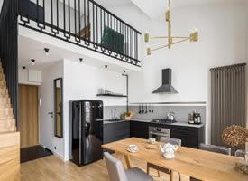 一间55㎡经济型loft公寓