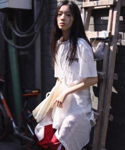 庄达菲胡同清纯街拍写真图片