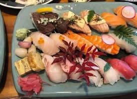 一组养眼的寿司美食图片 