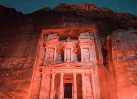 """神祇之地,穿越千年的约旦""""玫瑰红古城""""——佩特拉古城"""