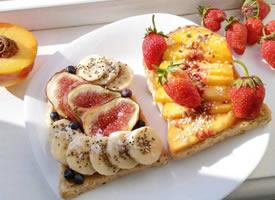 一组DIY营养早餐图片