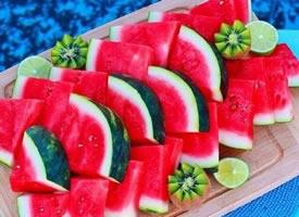 一组甜甜的西瓜图片欣赏