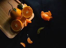 一组清新的橘子摄影图片欣赏