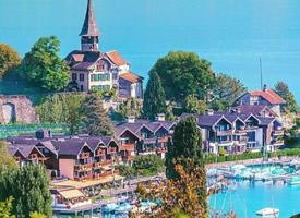 瑞士施皮茨古堡小镇,一个比仙境还美的地方