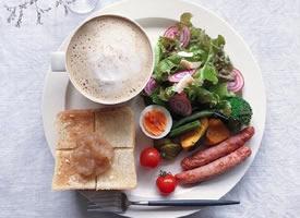 也想吃这样美美的早餐