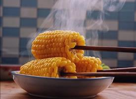 小小的玉米都可以拍出这么美的照片