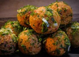 一组美食肉丸子图片