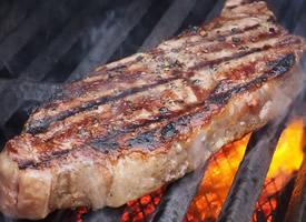 高清烤牛排图片
