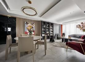 136平米现代简奢三居室