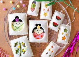 日本博主mayuko的创意甜品,太可爱了