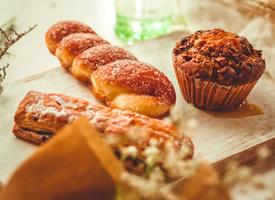 一组高清烘焙面包图片
