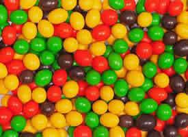 甜丝丝的五彩糖果图片
