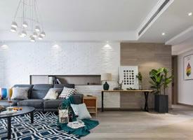 清新北欧风三居室装修,美观与功能都兼顾了
