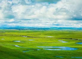 内蒙古草原的美四季都有,唯有夏天被注入灵魂