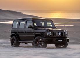 一台沙漠里撒欢的奔驰G63,任性
