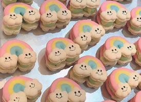 可可爱爱的卡通饼干