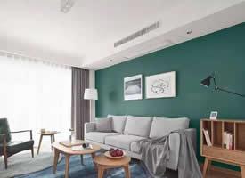 简约绿色风格装修效果图,打造自在舒适空间