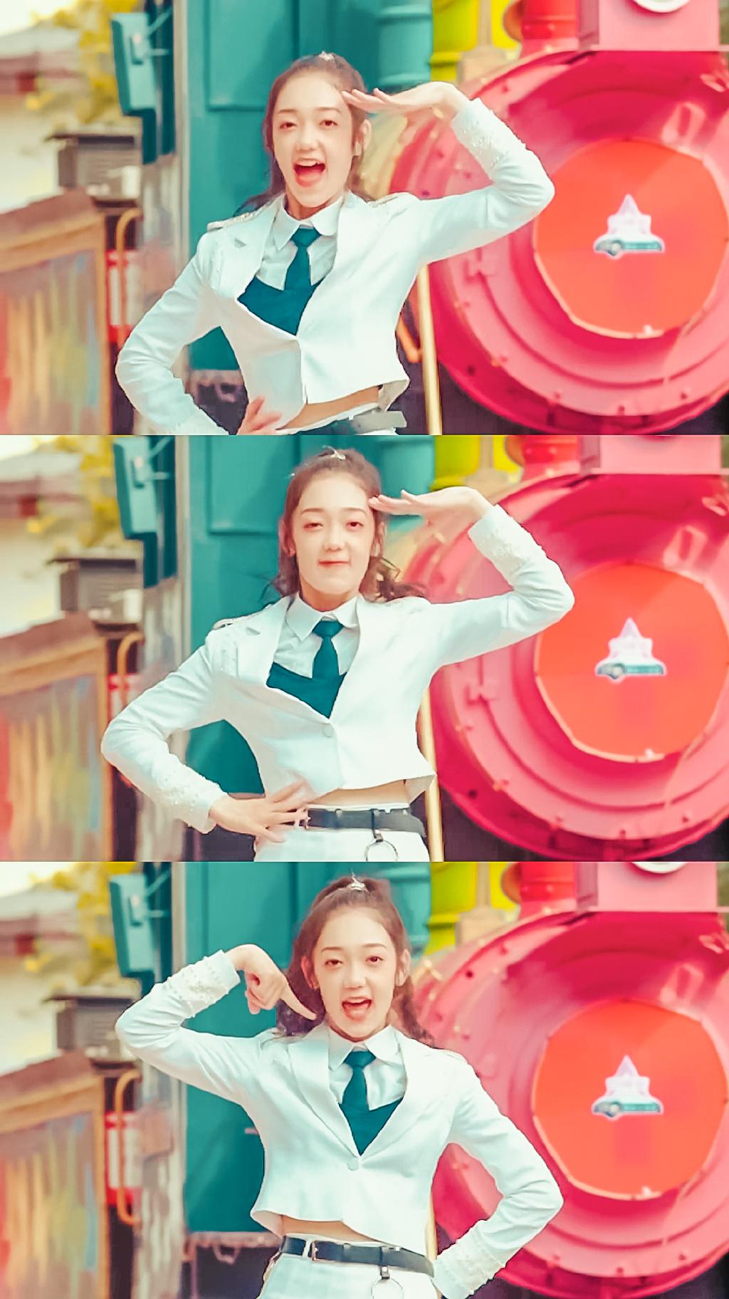 希林娜依·高舞蹈直拍图片