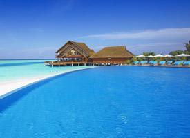 蓝色大海美景壁纸图片