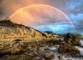 美丽七彩虹风景壁纸图片