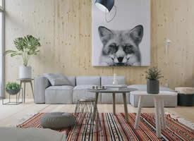 2020年,客厅沙发流行这么搭
