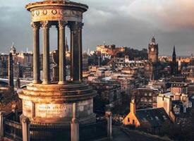 一个超文艺的古典城市,苏格兰爱丁堡