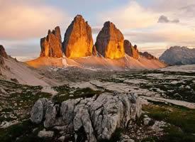 宛如科幻大片的存在——意大利三尖峰
