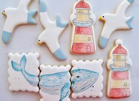 超级可爱的糖霜饼干