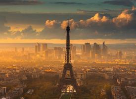 伤感的巴黎风景图片