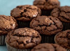 巧克力马芬蛋糕图片