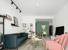 79㎡北欧风格家居装修设计