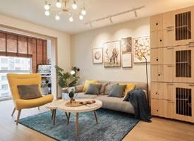 北欧风格小复式二居室