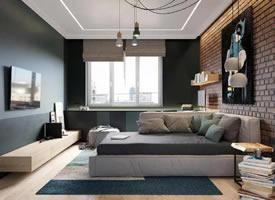 81.6㎡极简现代混搭风公寓设计 