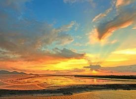 唯美夕阳风景图片